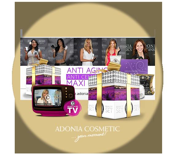 Kussmann & Kussmann Online Marketing Referenzen: Adonia Cosmetic