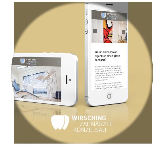 Kussmann & Kussmann Online Marketing Referenzen: Wirsching Zahnärzte Künzelsau