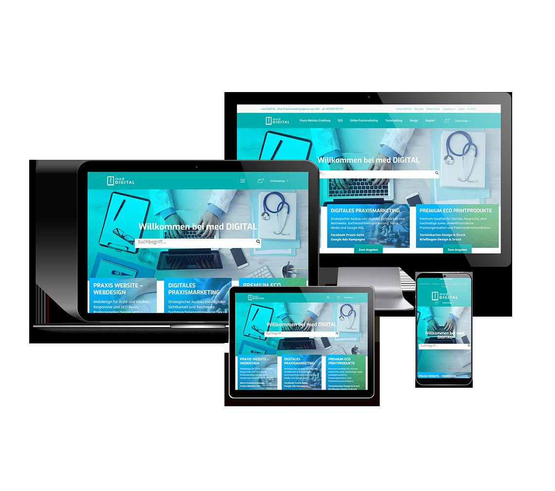 Online Marketing für Ärzte, Zahnärzte und Kliniken
